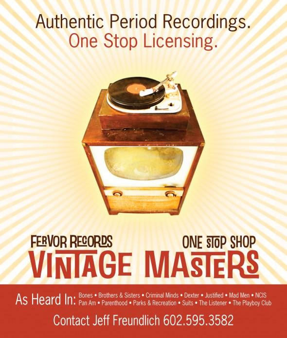 inventivewebs print ad for vintage masters